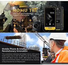 <b>NOMU T18</b> IP68 Waterproof Walkie Talkie <b>4G</b> Smartphone Android ...