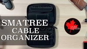 Smatree Universal <b>Gadget</b> and <b>Cable Organizer</b> - YouTube