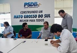A convite de Azambuja, vereador Germino se filia ao PSDB para disputar Prefeitura de Batayporã