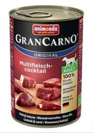 <b>Консервы ANIMONDA GranCarno Original</b> Adult для собак мясной ...