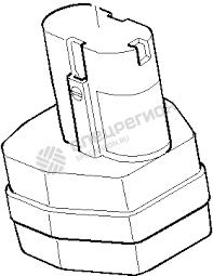 <b>Аккумулятор Makita</b> 1202 12В 2,0Ач Ni-Cd — купить по низкой ...