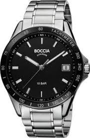 Купить <b>Boccia</b> Titanium <b>3597-02</b> Silver-Black в кредит в Есике ...