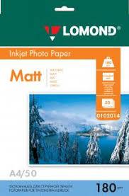 Односторонняя Матовая <b>фотоБумага</b> для струйной печати, <b>A4</b> ...