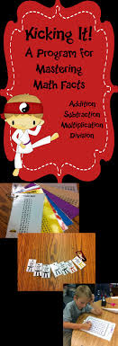 math facts multiplication fact fluency program kicking it math want to get your students excited about learning their multiplication facts try this fun karate