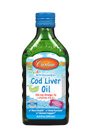 Carlson Kid's <b>Wild Norwegian Cod Liver</b> Oil + Vitamin A & D3 Liquid ...