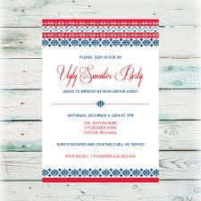 printable holiday party invitations digital files holiday party invitation ugly sweater party