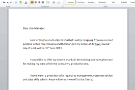 resignation letter samples and tips for how to write 0q1pn3ea resignation letter formats