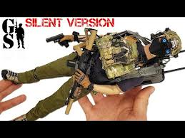 British S.A.S. operator: <b>1/6 scale</b> action figure - silent version ...