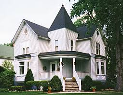Dave    s Victorian House Site   Illinois GalleryIL   Folk Victorian Wilmette  IL This modest little Victorian incorporates a design that one sees fairly often in folk Victorians