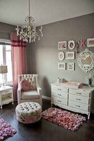 all things pink and girly finally chandelier girls room