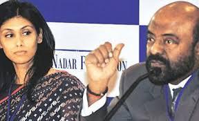 Roshni Nadar Malhotra, Shiv Nadar Roshni Nadar Malhotra (left) and Shiv Nadar - M_Id_436526_Roshni_Nadar_Malhotra,_Shiv_Nadar