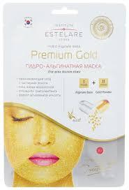 Estelare Гидро-<b>альгинатная маска для лица</b> Premium Gold ...