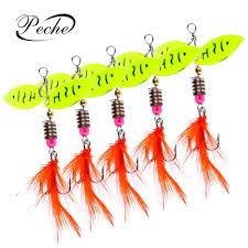 Peche <b>1pc Spinner</b> Trout Spoons <b>Fishing Lures</b> Wobblers ...