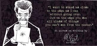 kurt vonnegut on writing quotes quotesgram