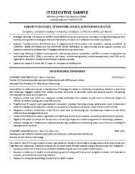 it director resume example it manager resume example