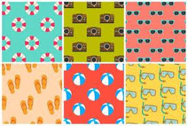 <b>Summer Pattern</b> Free Vector Art - (13,083 Free Downloads)