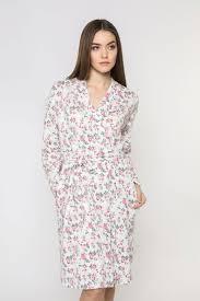 <b>Халат женский Pretty</b>. 8206P-75003.1S-054, цвет: розовый ...