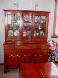 1950 Dining Room Furniture 1950 Era Cherry Duncan Phyfe Style Dining Room Table Six Chairs