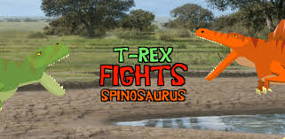 <b>T</b>-<b>Rex</b> Fights Spinosaurus - Apps on Google Play