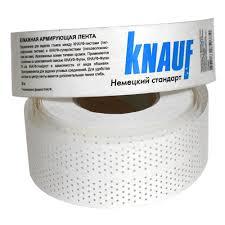 <b>Лента</b> армирующая Knauf <b>бумажная</b> 52 мм х 50 м купить ...