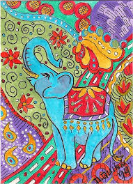 Sterling Silver Quartz Pear Dangle Earrings | <b>Elephant</b> art, <b>Elephant</b> ...