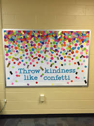 confetti bulletin board so cute could add student work on top of the confetti bulletin boards