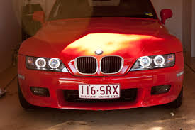 dtm style angel eye in z3 bmw z3 1996 front angle aa