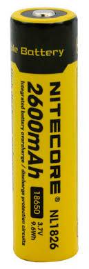 Купить <b>Аккумулятор Nitecore Rechargeable</b> NL1826 18650 Li-Ion ...