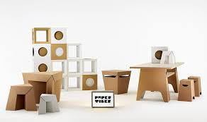 paper tiger cardboard furniture full range light cardboard furniture for sale