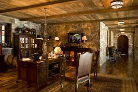 basement office design ideas home office rustic decorating ideas with wood flooring ceiling lighting basement home office ideas home office decorating