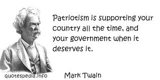 Patriotism Quotes By Famous People. QuotesGram via Relatably.com