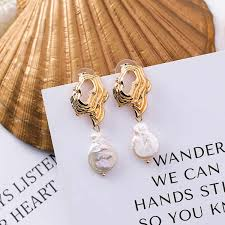 2018 Hot New <b>Style</b> Delicate Double <b>Round</b> Marble Trendy Drop ...