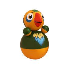 <b>Развивающая игрушка Russia Неваляшка</b> Попугайчик 15 см ...