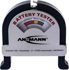 <b>4000001</b> | <b>Ansmann 4000001 Battery Tester</b> All Sizes | RS ...