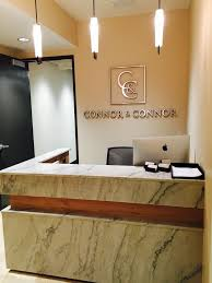 interior design ideas for office. connor and law offices reception desk interior design ideas for office