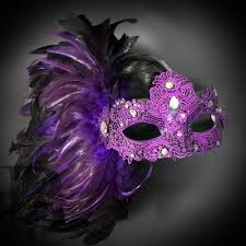 <b>Sexy Feather</b> Masquerade Ball Party Masks US FREE SHIP