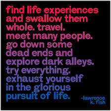 Quotes About Life Experiences. QuotesGram