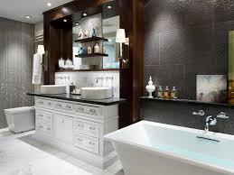 bathroom designs luxurious: photo by brandon barre hctalh glamorous bathroom tub vanity toilet afterjpgrendhgtvcom