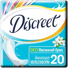 Характеристики модели <b>Discreet прокладки</b> ежедневные <b>Deo</b> ...
