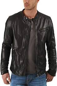 New <b>Men's Genuine Cow Leather</b> Jacket Slim Fit Motorcycle Jacket ...