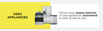 Used Kitchen Appliances Turner Appliance In Clinton Iowa Offers New Appliances And Parts