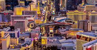 Las Vegas Helicopter Tour Night Flight   Maverick Helicopters