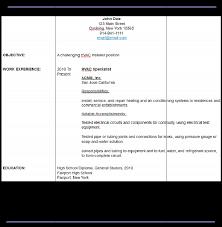 sample hvac resume   resume maker   resume softwaresample hvac resume