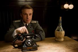 inglourious basterds film s the red list christoph waltz in inglourious basterds directed by quentin tarantino 2009