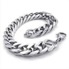 Shop Hpolw silver <b>Stainless Steel</b> Ring-<b>buckle</b> type Wide Link Spiral ...