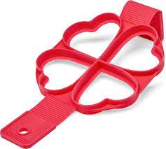 <b>Форма для оладий Walmer</b> Heart, цвет: красный, 34,5 x 16 cм ...