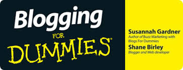 Image result for blogging for dummies book