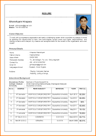 word resume format for freshers resume builder word resume format for freshers 7 resume format for freshers in resume format for