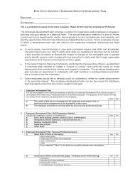 employee development plan template employee development plan template 117
