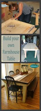 dining table woodworkers:  ideas about diy dining table on pinterest diy table farmhouse table plans and diy dining room table